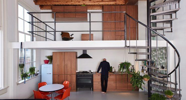 Industrieel landelijk keuken for Landelijk interieur voorbeelden