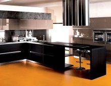 Moderne Italiaanse keukens