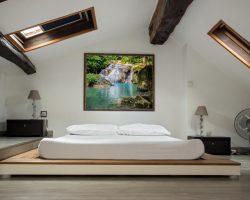 Mooiste raamdecoratie-mogelijkheden van VELUX voor kamers met een schuin dak