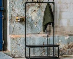 Decoreer je muur met stalen industriele kapstokken