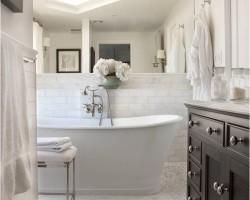 De landelijke badkamer