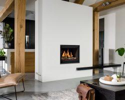 Breng sfeer in een modern interieur met een kachel of haard