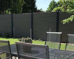 Omheining tuin? Kies voor een beton schutting!