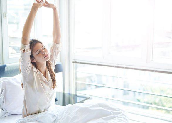 Heerlijk slapen doe je in een lekker bed