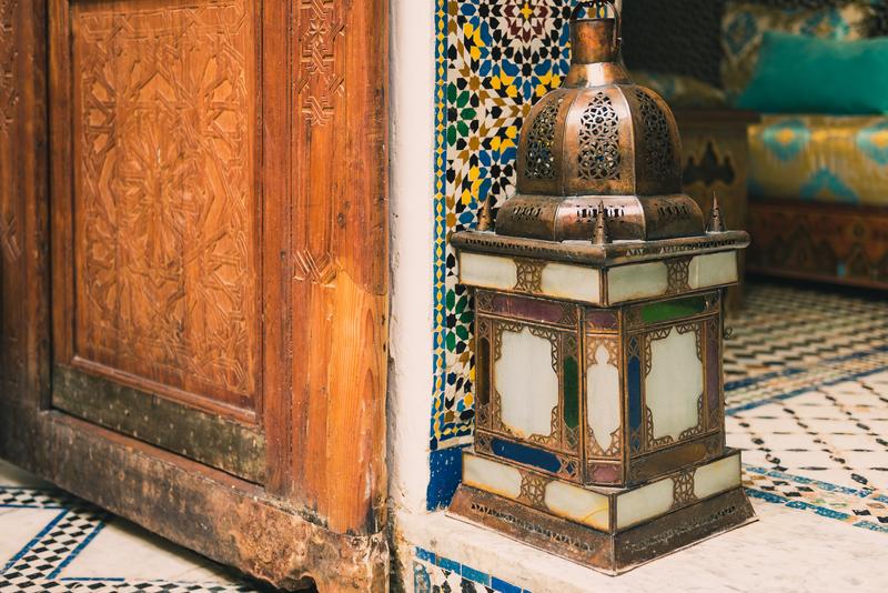 Marokkaanse woonstijl