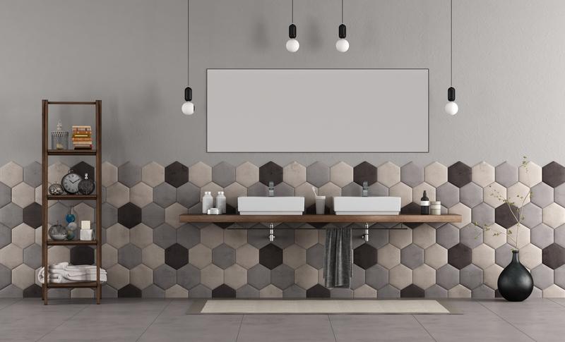 Een warme en moderne vloer met tapijt tegels