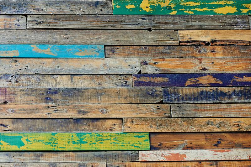 bijzondere vloer van hout