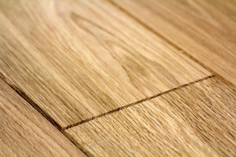 houten vloer met vloerverwarming