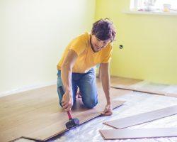 Laminaat vloer voor in de woonkamer