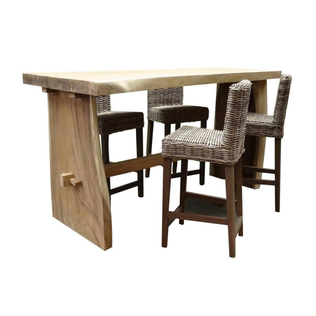 Spiksplinternieuw Mooie houten barsets voor in de tuin | Interieurspecialisten.net CI-74