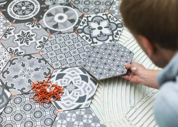 Hexagontegels, de trend van 2019
