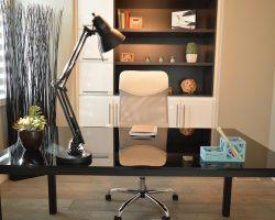 Een werkkamer in huis: leuk om te hebben, nog leuker om in te richten.
