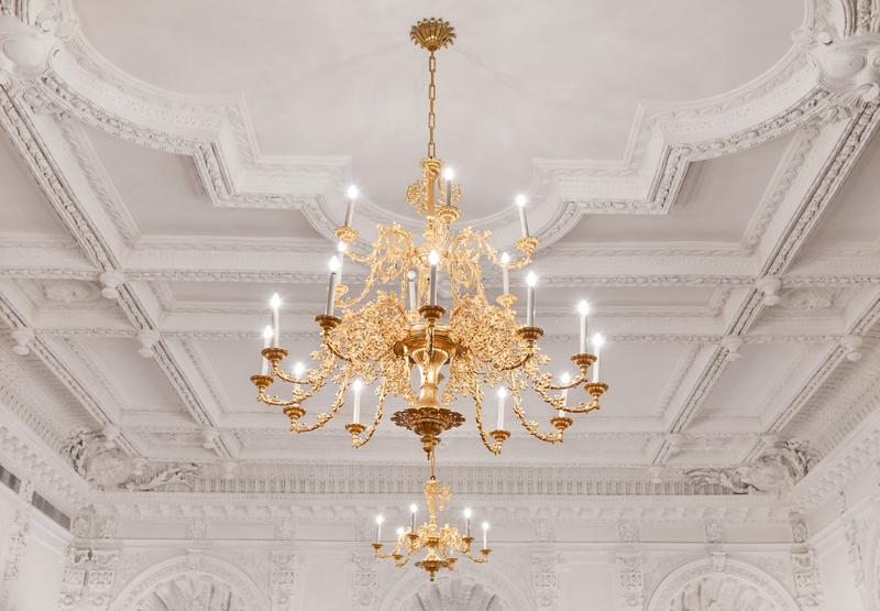 verlichting hoog plafond