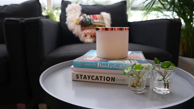 boeken op salontafel