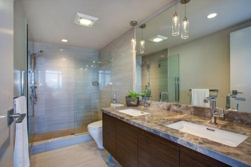marmeren badkamermeubel