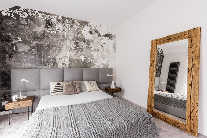 Gebruik van hout in de slaapkamer