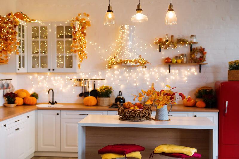 Herfst interieur