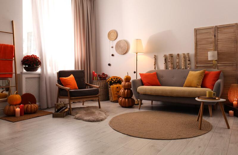een mooi Herfst interieur