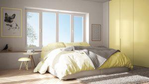 8 redenen om voor een gele slaapkamer te kiezen