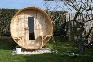 Maak van je tuin een spa met je eigen sauna en jacuzzi