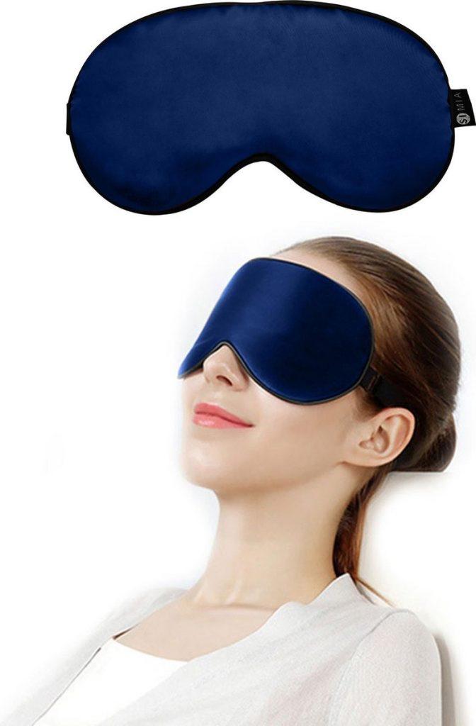 Premium Zijden Slaapmasker