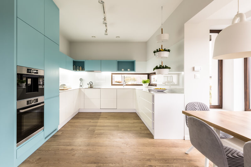 de trendy kleuren voor in de keuken