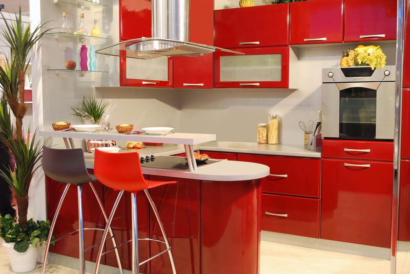 trendy kleuren voor in de keuken