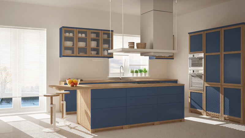 wat zijn de trendy kleuren voor in de keuken