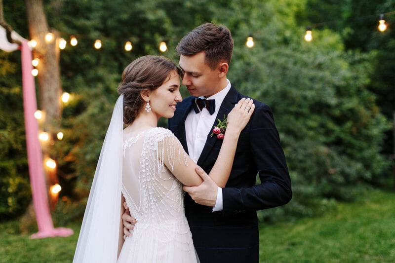 bruiloft afgelegen locatie